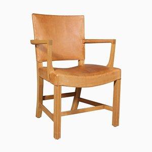Roter Stuhl von Kaare Klint für Rud Rasmussen