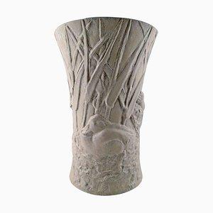 Stoneware Vase by Hugo Liisberg from Saxbo