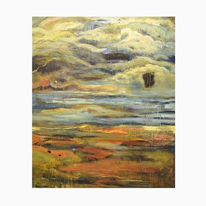 Bonnie Happiness Vestervig, Danish Artist, Composition, Acrylic on Canvas