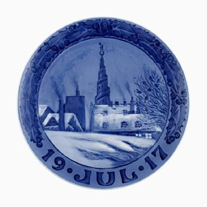 Christmas Plate from Royal Copenhagen, 1917