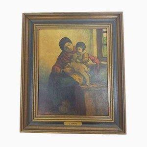 Peinture Sur Toile, Jacob Smits Mater, 1901