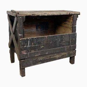 Banco da lavoro piccolo industriale in legno