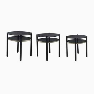 Machine Side Tables, Set of 3