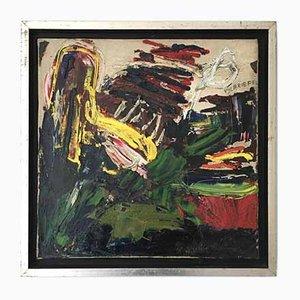 Ernst Vijlbrief, Cobra, 1962, Öl auf Leinwand