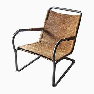 Tubular Chair by Bas van Pelt, 1930s
