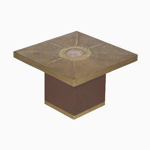 Quadratischer Couchtisch von Paco Rabanne für Lova Creation, 1970er