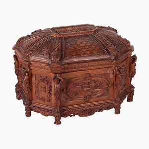 Holz Geschnitzte Box