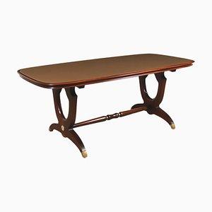 Tavolo in mogano, anni '50