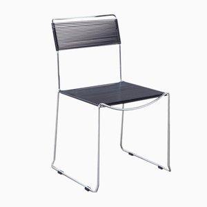 Black Spaghetti Chair by Giandomenico Belotti for Fly Line