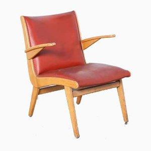 Dutch Red Armchair from Gelderland