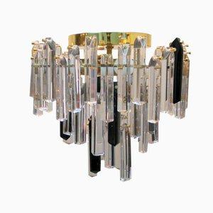 Italian Vintage Crystal Chandelier, 1960s