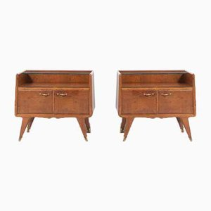 Bedside Tables from La Permanente Mobili Cantu, 1950s, Set of 2