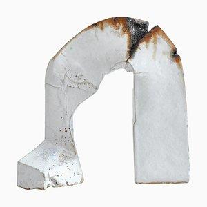 Sculpture en Grès Blanc par Ole Bjørn Krüger de Own Studio, Denmark, 1960s