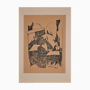 Felice Casorati - Still Life - Original Lithografie - Mitte 20. Jahrhundert