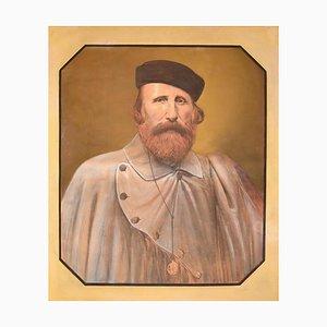 Desconocido - Retrato de Giuseppe Garibaldi - Dibujo original - 1850