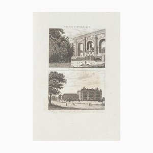 Unknown - Cityscapes - France Pittoresque - Original Etching - 19th Century