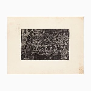 Eduardo Paolozzi - the Garden - Original Etching - 20th Century
