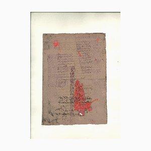 Michele Canzoneri - the Seven Days of Bardo Thodol - Original Lithograph - 1977