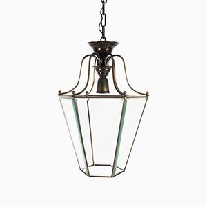 Vintage Brass Lantern Suspension