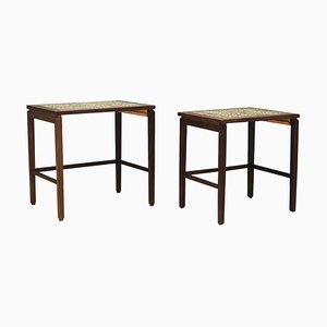 Nesting Tables in Teak, 1960s, Set of 2