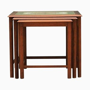 Danish Teak Nesting Tables Set, 1960s