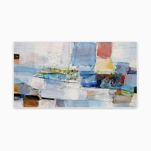 Sail, Abstract Expressionism Painting, 2020