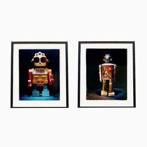 Paar Roboter - Pop Art Farbfotografie 2012