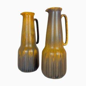 Große Mid-Century Keramikvasen von Gunnar Nylund für Rörstrand, Schweden