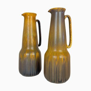 Large Mid-Century Ceramic Vases Gunnar Nylund for Rörstrand, Sweden