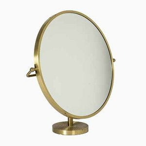 Brass Table Mirror by Josef Frank