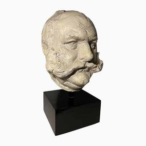 Sculptural Bust of Actor Jimmy Edward's by Irena Sedlecka