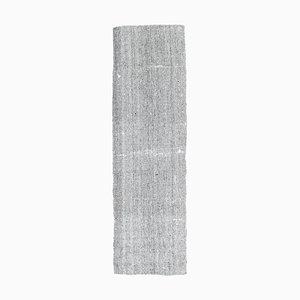 Handgeknüpfter türkischer Vintage Kelim Handgewebter Oushak Flachgewebe Teppich
