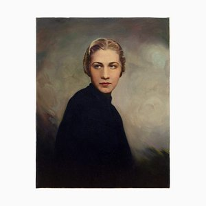 Mid-20th Century American School, Portrait of a Woman