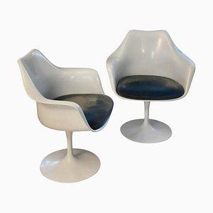 Fauteuils Tulip par Eero Saarinen pour Knoll, Set de 2