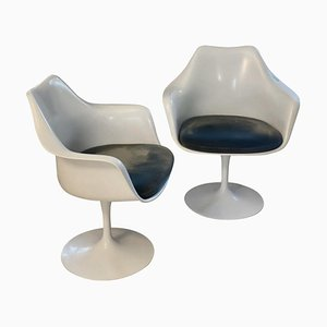 Tulip Armlehnstühle von Eero Saarinen für Knoll, 2er Set