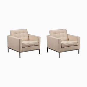 Armchairs by Florence Knoll, Set of 2