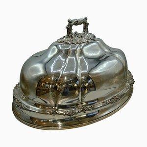 Silver Serving Cloche, 1880s