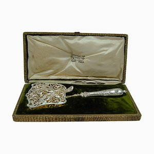 Chapus a La Gerbe D'or French Solid Silver Asparagus / Pastry Server