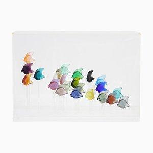 Aquarium of 24 Fishes by René Lalique