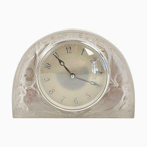 Sparrows Pendulum Clock by René Lalique