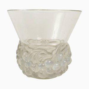Opalescent Cherries Vase by René Lalique