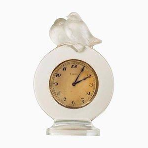 Pierrots Eight Days Clock by René Lalique
