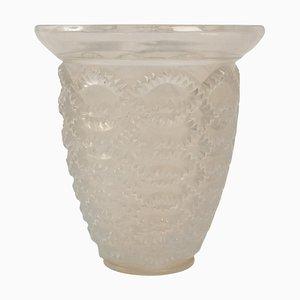 Opalescent Guirlandes Model 10-887 Vase by Rene Lalique, 1935