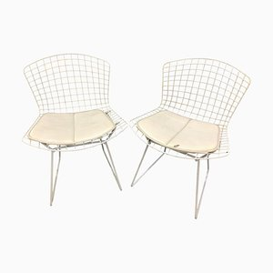 Wire Chairs by Harry Bertoia, Set of 2