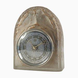 2 Colombes Pendulum by René Lalique