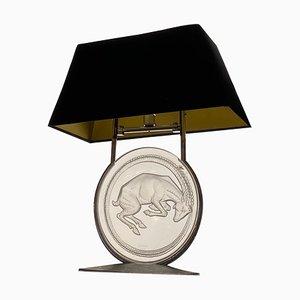 Belier Aries Table Lamp by René Lalique, 1931