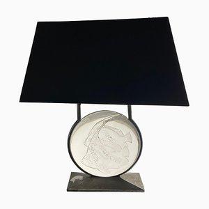Poissons Lamp by René Lalique, 1931