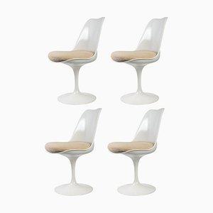 Sedie Tulip di Eero Saarinen & International Knoll, set di 4