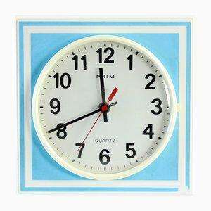 Czechoslovakian Clock from Prim, 1970s