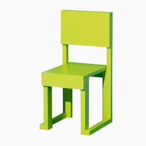 Chaise Easydia Junior Granny Smith par Massimo Germani Architetto pour Progetto Arcadia